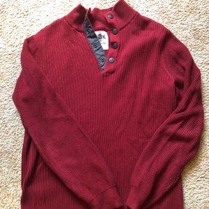 Men's Express button sweater